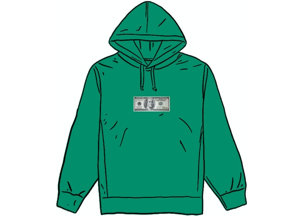 Supreme Franklin Hooded Sweatshirt Light Pine