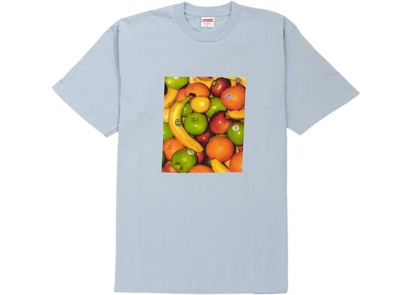 SUPREME FRUITS TEE LIGHT BLUE