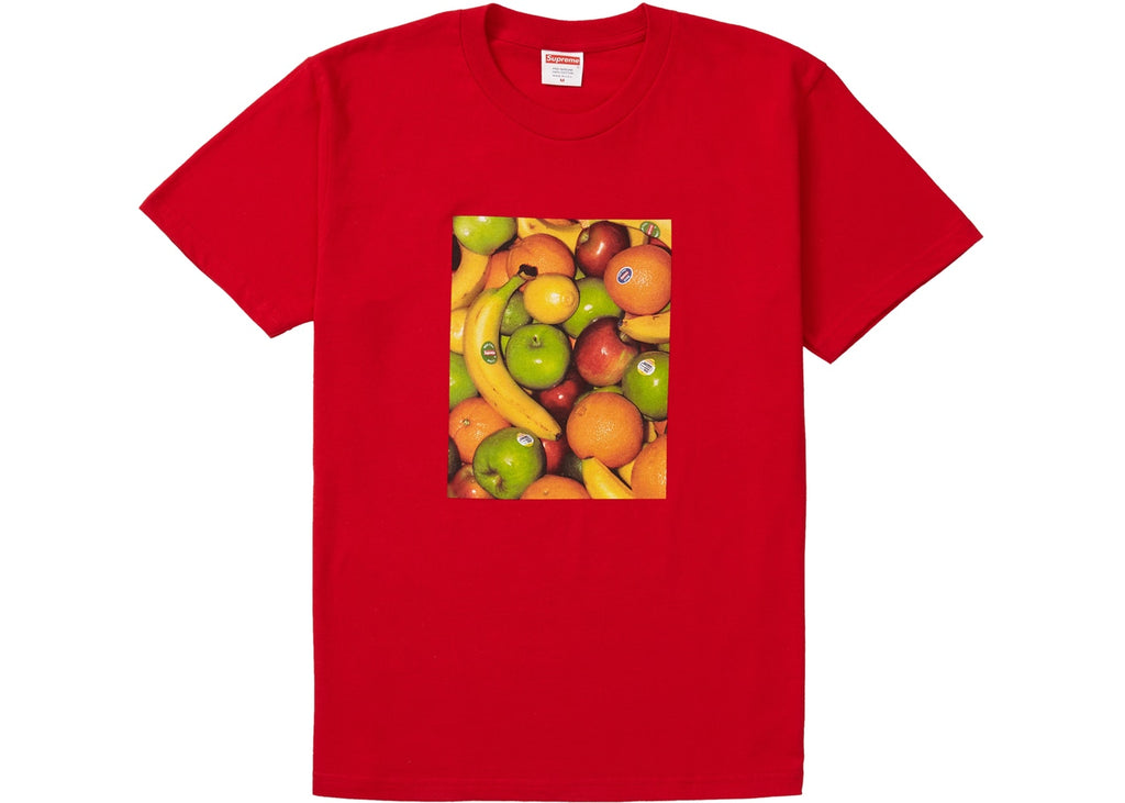 Supreme Fruit Tee Red