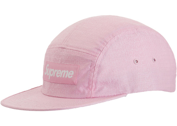 Supreme Fuck Everybody Jacquard Camp Cap Pink