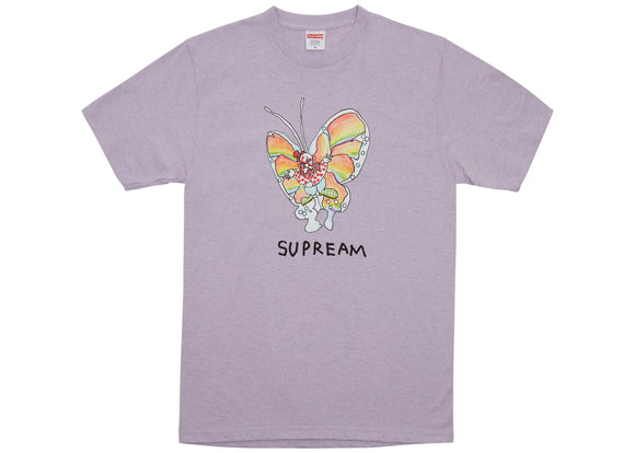Supreme Gonz Butterfly Tee Heather Purple