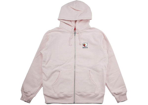 Supreme Gonz Ramm Zip Up Sweatshirt Pale Pink