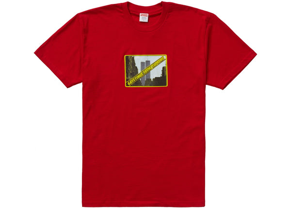 Supreme Greetings Tee Red