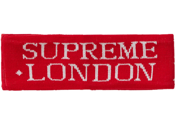 Supreme International Headband Red