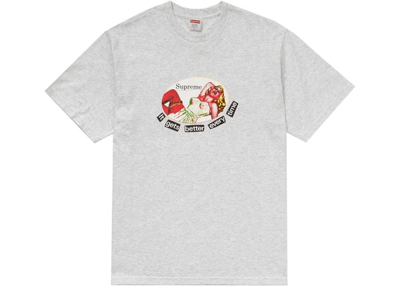 Supreme It Gets Better Tee (Grey)