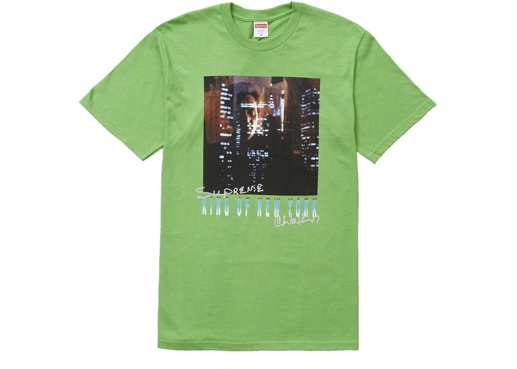 Supreme King of New York Tee Green