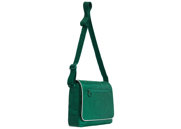 Supreme LACOSTE Small Messenger Bag Green