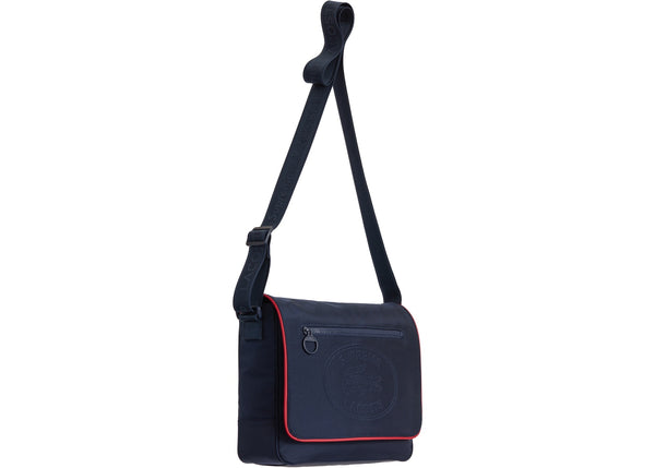 Supreme LACOSTE Small Messenger Bag Navy