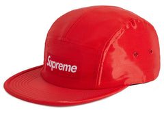 Supreme Liquid Silk Camp Cap Red