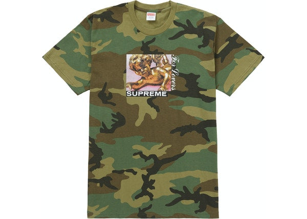 Supreme Lovers Tee Woodland Camo