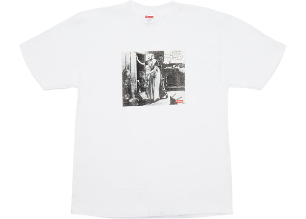 Supreme Mike Kelley Hiding From Indians Tee White