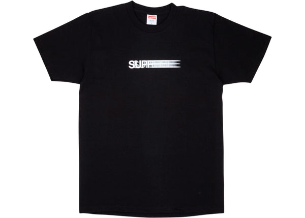 Supreme Motion Logo Tee Black