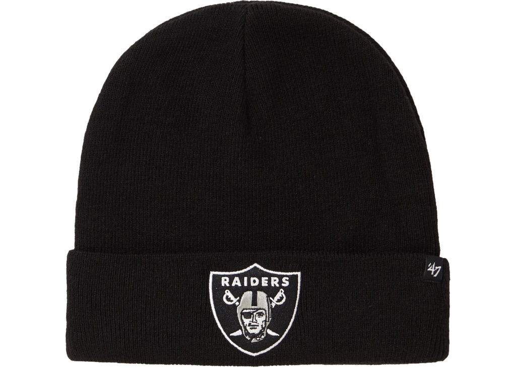 Supreme NFL x Raiders x '47 Beanie Black