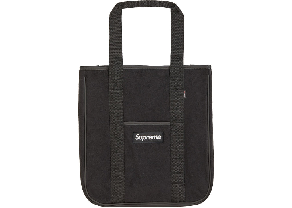 Supreme Polartec Tote Black