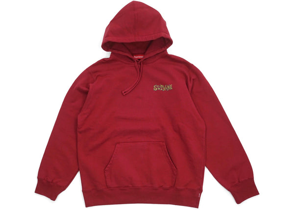 Supreme Portrait Hooded Sweatshirt Cardinal