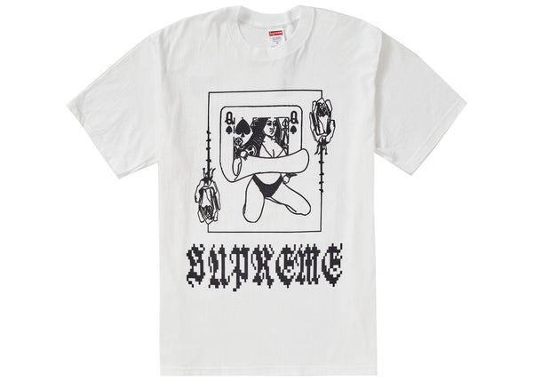 Supreme Queen Tee White