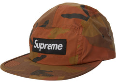 Supreme Reflective Camo Camp Cap Orange