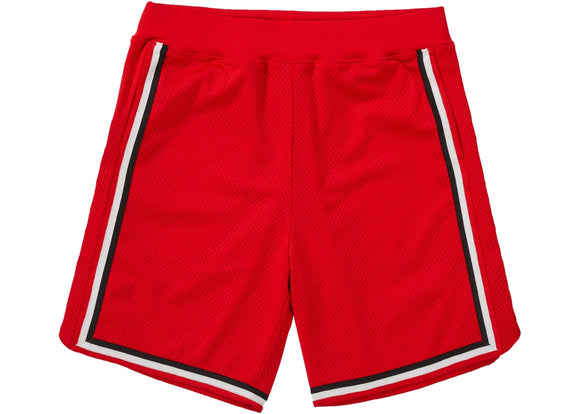 Supreme Rhinestone Basketball Short Red