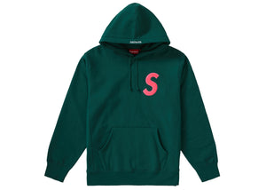 Supreme S Logo Hooded Sweatshirt (FW19) Dark Green