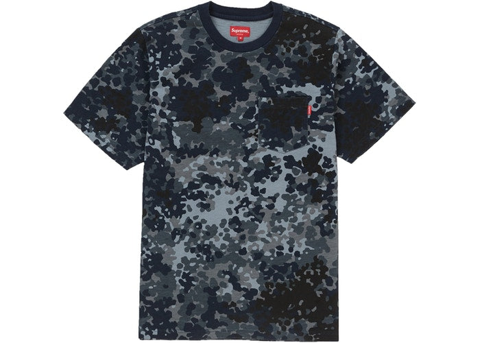 Supreme blue German camo pocket tee