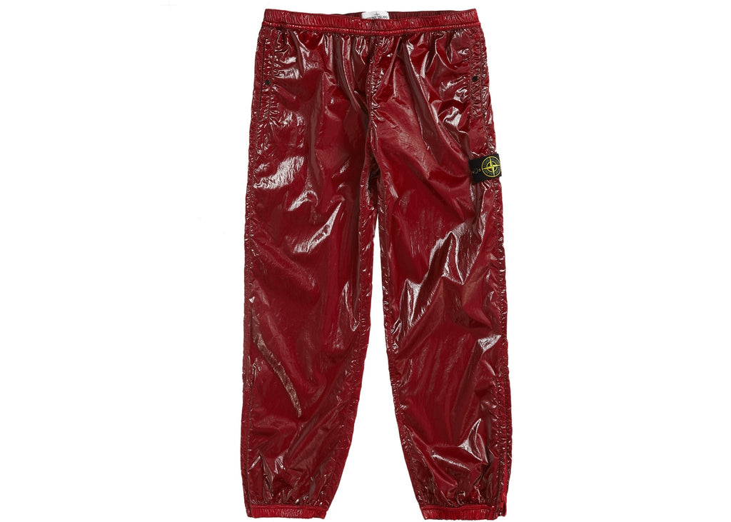 Supreme Stone Island New Silk Light Pant Red