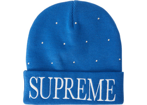 Supreme Studded Beanie Royal