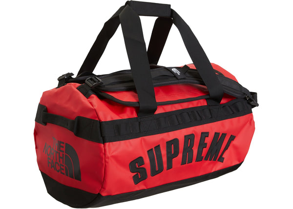 Supreme The North Face Arc Logo Small Base Camp Duffle Bag Red