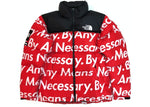 Supreme The North Face By Any Means Nuptse Jacket Red