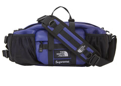 Supreme The North Face Leather Mountain Waist Bag Royal