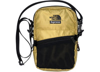 Supreme The North Face Metallic Shoulder Bag Gold