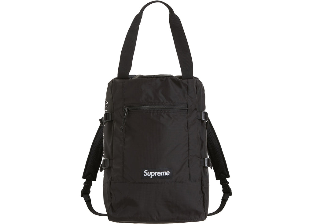 Supreme Tote Backpack Black ss19