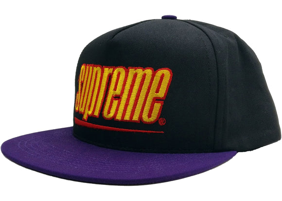 Supreme Underline 5-Panel Black