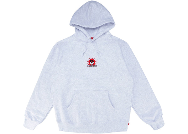 Supreme Vampire Hooded Sweatshirt Ash Grey