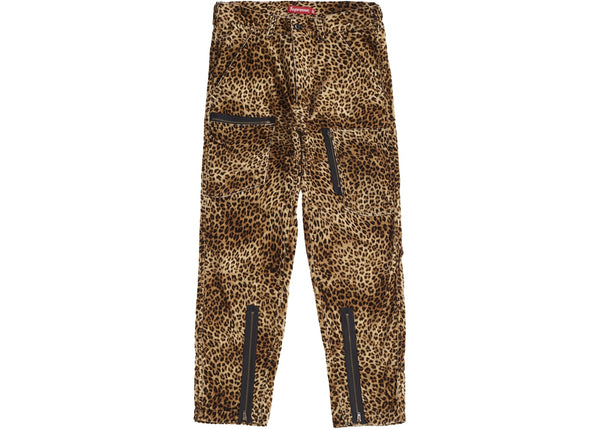 Supreme Velvet Flight Pant Leopard