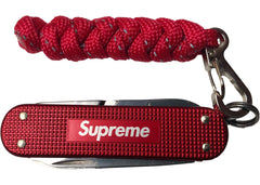 Supreme Victorinox Classic Alox Knife Red