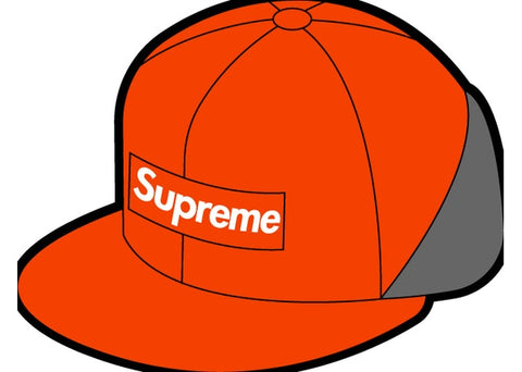 Supreme WINDSTOPPER Earflap Box Logo New Era Orange