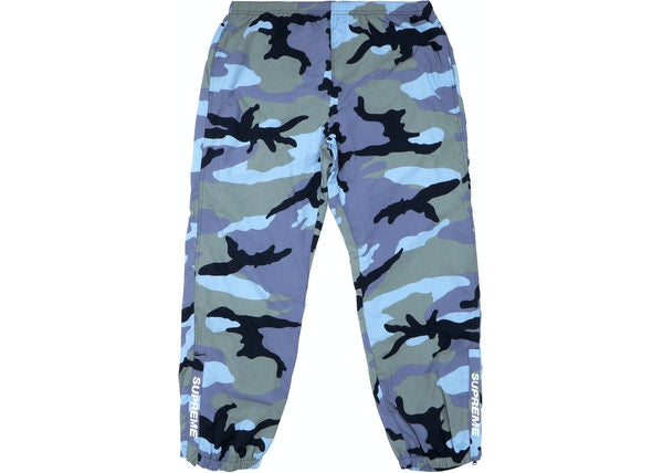 Supreme Warm Up Pant (SS18) Blue Camo