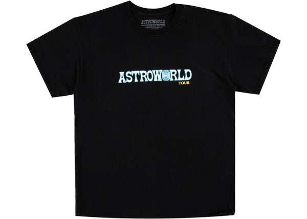 Travis Scott Astroworld Tour Tee Black