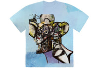 Travis Scott Portrait of Travis Tie Dye T-Shirt Multi