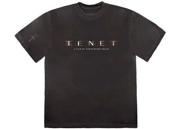 Travis Scott Tenet T-Shirt Black
