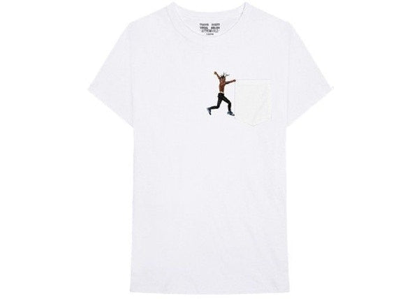 Travis Scott x Virgil Abloh By A Thread Tee (Cactus Jack Version) White