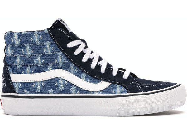 Vans Sk8-Hi Supreme Hole Punch Denim Blue