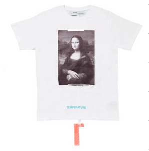 Virgil Abloh MCA Figures of Speech OFF-WHITE Mona Lisa Tee White