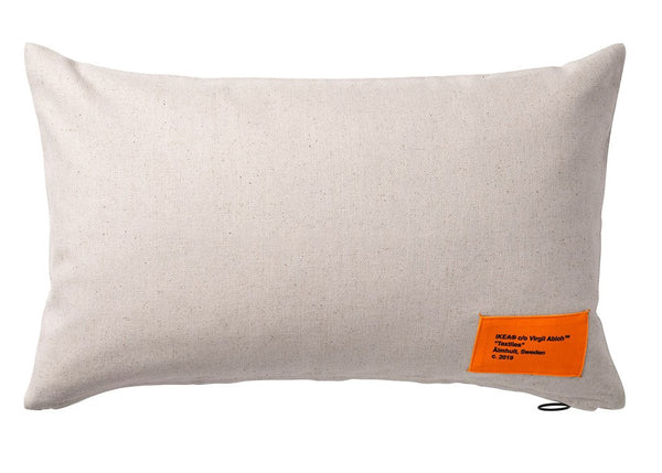 Virgil Abloh x IKEA MARKERAD Cushion Cover Beige