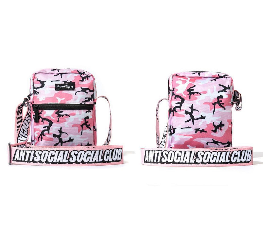 ASSC shoulder bag camo pink