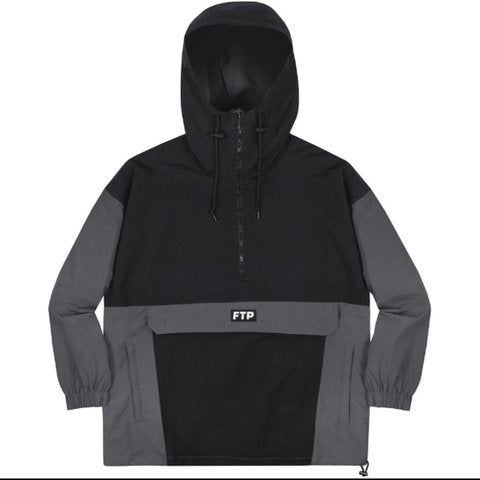 FTP Anorak Black/Grey