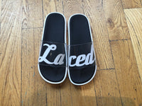 Laced Clear Slides