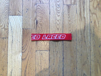 Laced Headband Red