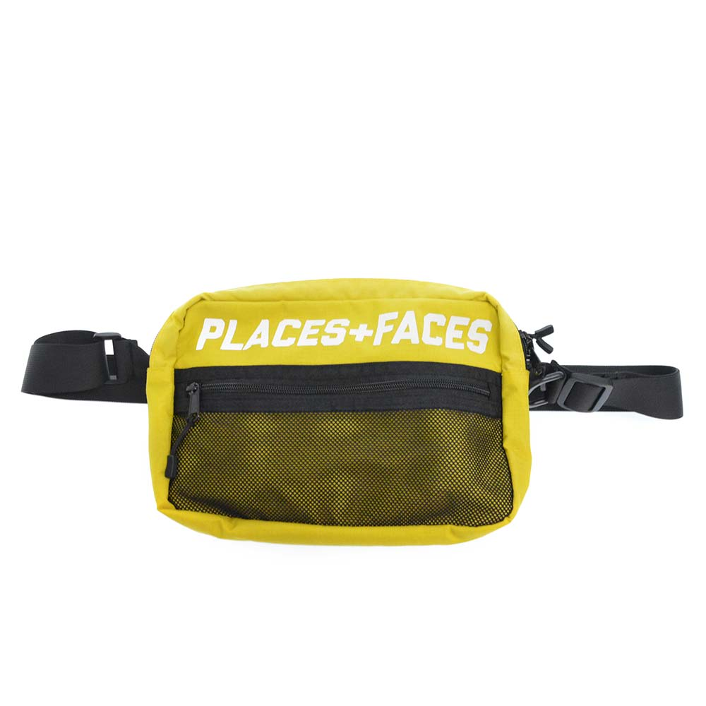 Places and faces yellow shoulder