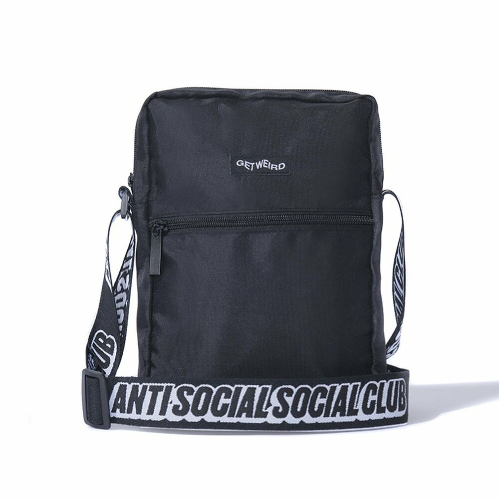 ASSC Get Weird Shoulder Bag Black